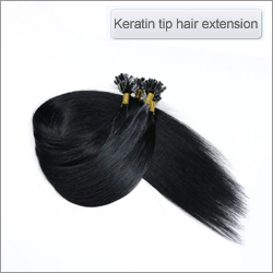 Keratin tip hair extension